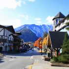 Little town of Leavenworth by Debbie Roelle