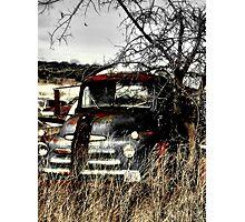 Ole Beater Truck ~ (BoneYard Series) Photographic Print