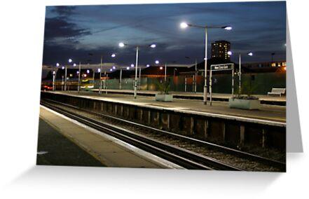 New Cross Gate Station by Richard Pitman