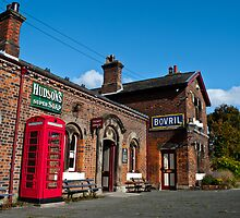 Hadlow Train Station by Dominic Pybus