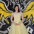 "Urban Angel - ""Belle"" in the Alley by Steve Hildebrandt"