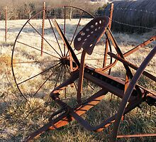 Rusty Hay Rake by shimschoot