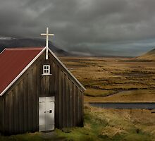 Iceland Country Chapel is now gone! by Peter Thorpe