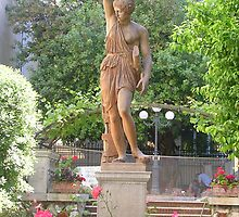 greek statue by sharon wingard