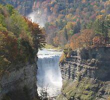 Majestic Falls - Letchworth State Park by ksuzan