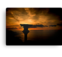 The Lonely Lookout Canvas Print