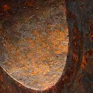 Rusty curve by Elizabeth McPhee