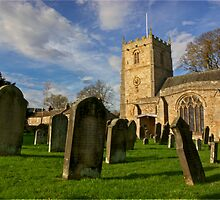 Romaldkirk Church -Co Durham by Trevor Kersley