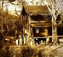 """""""Freeman's Mill In Sepia"""" by franticflagwave"""