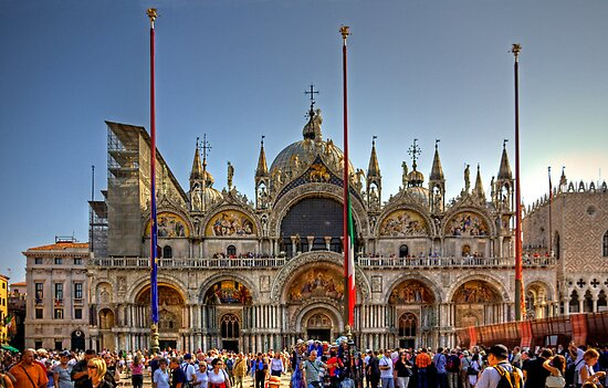 Saint Mark's Basilica by Tom Gomez