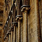 Stone work of Ely Cathedral by Karen  Betts