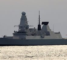 HMS Daring -  Type 45 or 'D' Class Air defence destroyer  by Jason Sarre