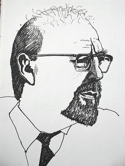 Portrait study 9 by Richard  Tuvey