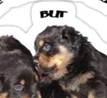 Dogs Make My Life Whole Sticker