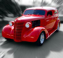 "1938 Chevrolet Sedan Delivery ""Hobo Express"" by TeeMack"