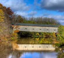 Fall Covered Bridge by JBoyer