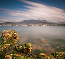 Hobart from Bellerive by NickMonk