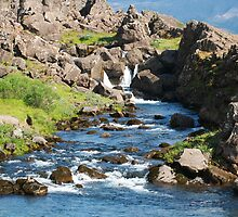 The Downing Pool, Þingvellir by Mark Prior