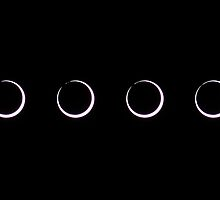 Annular Solar Eclipse (sequence) by zumi