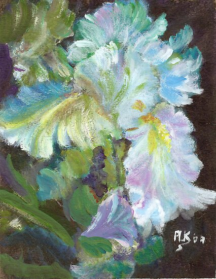 Iridescent Iris by Blended