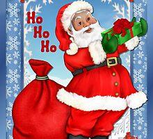 Jolly Santa Greetings by SpiceTree
