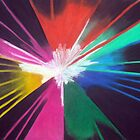Colourful Laser Light by Rebecca Hearl