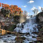 Chittenango Falls (HDR) by photoescapist