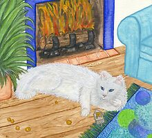 Kindle Cat by CiannaRose