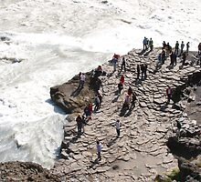 Getting up close to Gullfoss by Mark Prior