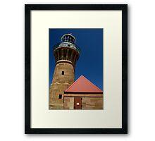 Lighthouse - Palm Beach - Sydney - Australia Framed Print
