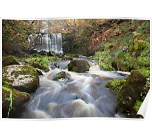 Scale Haw Waterfall - Hebden Poster