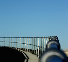 The long and winding path Fence by TeAnne