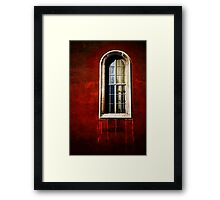 A View with a Room Framed Print