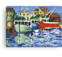 Peggy's Cove 3 Fisherman Canvas Print