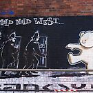 Banksy Bear by Kiwikiwi