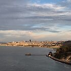 San Francisco seen from the Golden Gate Bridge by dijle