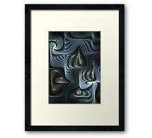 Tears from Heavens  Framed Print