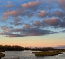 Platte River at Twilight by Mark Van Scyoc