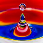 Liquid Art - Water Marble by Tom Piorkowski