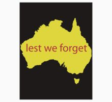 Lest we forget by Platypusboy