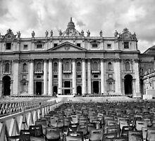 Basilica di San Pietro by Eyal Geiger