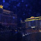 Night Time in Vegas, orbs by ciaobella2u