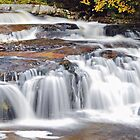 Jackson Falls, New Hampshire by Wanda Dumas