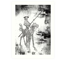 Don Quijote Art Print