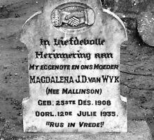 Magdalena by fourthangel
