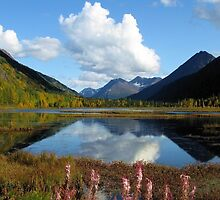 ALASKA'S KENAI DOUBLE BEAUTY by 1arcticfox
