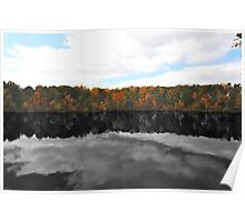 Variations On A Pond II - Yates Millpond Poster