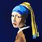 The Girl with a Pearl Earring after Vermeer by Rodney Campbell