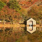 Asleep by the Boathouse, Wastwater by Robin Whalley