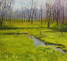 Back Pasture by Doris Currier